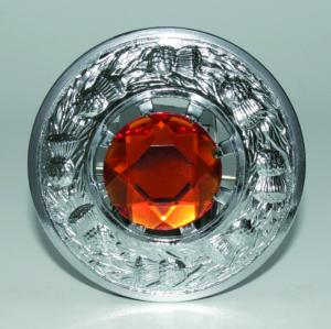 Broche Chardon Chrome Orange